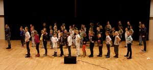 Generale repetitie KISI musical