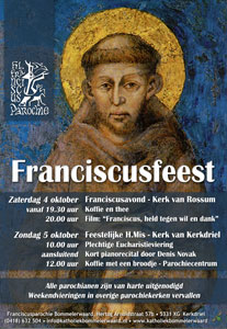 Franciscusfeest 2014