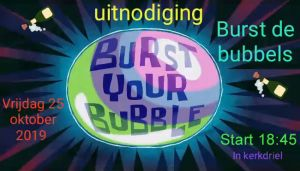 Startfeest Squad4J6 - Burst the Bubbles